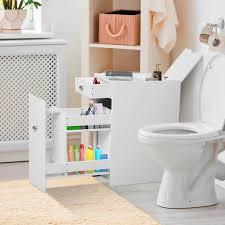 homcom badschrank schubladenschrank badezimmerschrank