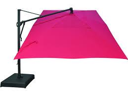 9 Ft Patio Market Umbrella by Outdoor 13 Ft Wooden Market Umbrella 9 Foot Square Cantilever