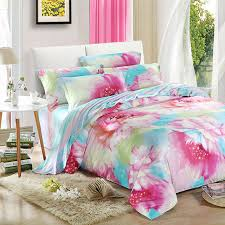 100 Cotton Rustic Style Fancy Bedding Sets 4pcs Include Duvet Cover Bed Sheet Pillowcase Twin
