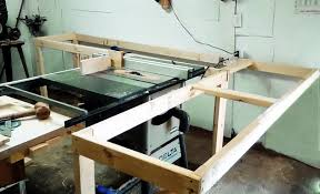 Makita Tile Table Saw by Table Saw Outfeed Table Plans Biggest Review Collection Of Power