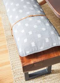 Hubsch Bench Cushions Diy Outdoor Canadian Leather Gorgeous Etsy ...