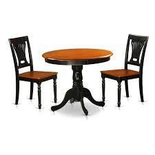 Amazon.com - Svitlife Antique Dining Set With 3 Pieces With ...