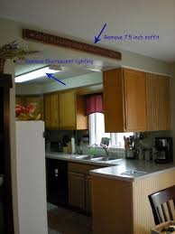 Kitchen Soffit Decorating Ideas by The Atwoods Our Kitchen Tour Remodeling Plans