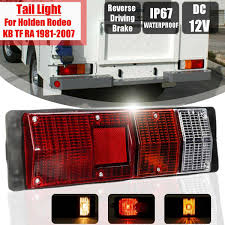100 Truck Store US 1171 21 OFF2Pcs Tail Light For ISuzu For Holden Rodeo KB TF RA 1981 2007 Car Accessories With Bulb Rear Brake Reverse Driving Lightin