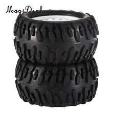 100 16 Truck Wheels US 783 21 OFFMagiDeal Rubber 1 RC Climbing Car Monster Tyres Tire For HSP HPI ZD Racing GizmoVine WPL FS Wltoys RC Car Partsin