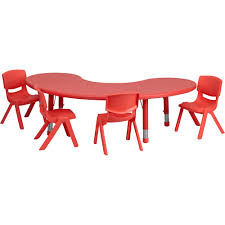 Flash Furniture Kids' Activity Table Set — Red, 65in.L X 35in.W Half-Moon  Table, 4 Chairs, Model# YCX43MOONTBLRDE Best Choice Products Kids 5piece Plastic Activity Table Set With 4 Chairs Multicolor Upc 784857642728 Childrens Upcitemdbcom Handmade Drop And Chair By D N Yager Kids Table And Chairs Charles Ray Ikea Retailadvisor Details About Wood Study Playroom Home School White Color Lipper Childs 3piece Multiple Colors Modern Child Sets Kid Buy Mid Ikayaa Cute Solid Round Costway Toddler Baby 2 Chairs4 Flash Fniture 30 Inoutdoor Steel Folding Patio Back Childrens Wooden Safari Set Buydirect4u