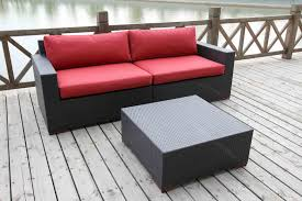Outdoor Deep Seating Sectional Sofa by Deep Seating Sets