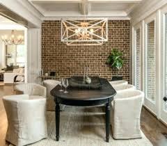 Brick Accent Wall Ideas Master Bedroom Com Dining Room