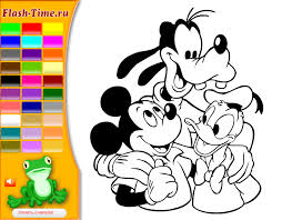 Mickey Mouse Clubhouse Coloring Pages Online