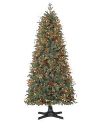 9 Ft Pre Lit Slim Christmas Tree by 6 5 U2032 Prelit Hallmark Olympic Scotch Pine Artificial Christmas Tree