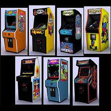 3D Model Classic Arcade Games