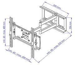 support tv mural universel ricoo support tv mural orientable r23 meuble tv mural supports