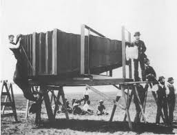 In 1900 George R Lawrence Built This Mammoth 900 Lb Camera Then The Worlds Largest For 5000 Enough To Purchase A Large House At That Time