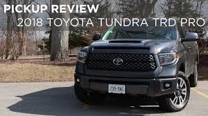 Pickup Review | 2018 Toyota Tundra TRD Sport | Driving.ca - YouTube