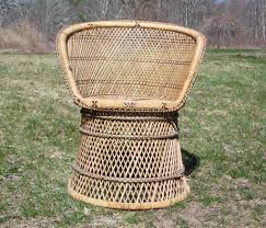 Vintage Woven Rattan Wicker Barrel Back Tub Chair   EBay Shop Costway 4 Pieces Patio Fniture Wicker Rattan Sofa Set Garden Tub Chair Chairs Increase Beautiful Design To Your House Rattan Modern Shell Retro Design Outdoor Ding Asmara Oliver Bonas New Black Poly Spa Surround Hot Chic Tropical Cheap Find Deals On Line At Round Fan Lily Loves Shopping Gray Adrie By World Market Products Sets