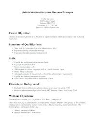Sample Executive Assistant Resume Fresh Admin Job Description Administrative