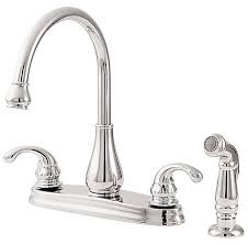 2 Handle Kitchen Faucet by Polished Chrome Treviso 2 Handle Kitchen Faucet Gt36 4dcc