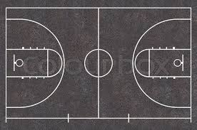 Basketball Court Floor Plan Asphalt Texture Street Basket Ball