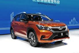 BYD China auto sales figures