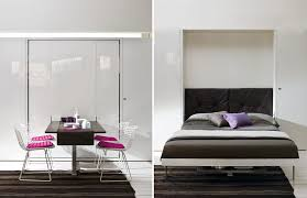 space saving beds spaces with clei murphy bed resource