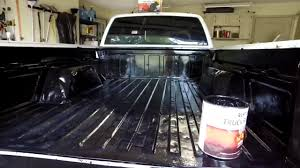 100 Pick Up Truck Bed Liners How To Paint In A Truck Bed Liner YouTube