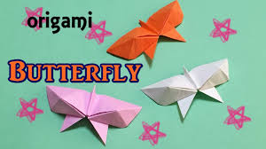 Easy Origami Butterfly For Kids