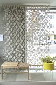 Floor To Ceiling Tension Pole Room Divider by Stylish Home Interior Partition Idea Using Wooden Hanging Room