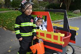 How To Prep Firefighter Themed Halloween Costume For The Family ...