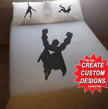 Superhero Duvet Cover Sheet Set Bedding Queen King Twin Size