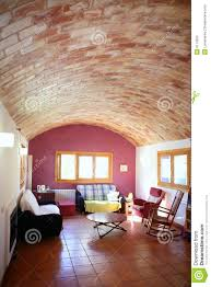 Warm Colors For A Living Room by Living Room In Warm Colors Spain Royalty Free Stock Photo Image