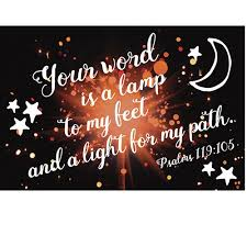Pkg 25 Your Word Is A Lamp Psalm 119105