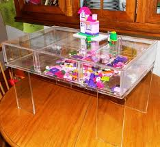 Custom Made Acrylic Craft Lego Table