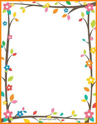 Design For Project Paper Border Designs Projects Tree Branches 1