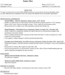 College Graduate Resume Sample Resumes Example