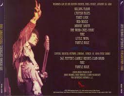 Jimi Hendrix Killing Floor Mp3 by The Jimi Hendrix Experience U2013 Live In Paris U0026 Ottawa 1968 2008