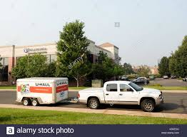Denver, Colorado, USA - August 7,2017: U-Haul Cargo Trailer At A ... A Uhaul Rental Pickup In Ldon Ontario Canada Stock Photo Trucks And Cargo Vans Rent For Just 1995 A Day Vintage Nylint Uhaul Ford Pickup Truck Closed Trailer U Haul Pickup Photos Images Alamy 5x8 Utility Trailer Rental Oneofakind Replica Truck My Storymy Story Should You Rent Fun An Invesgation Are Great Solution Small Moves They Can Antique Toy Ford Highly Collecti Flickr Cargo Van Queen Size Bed Can Fit Uhaul Cool Storage Helps Broaden Base On Marco Island About Port Jefferson Station Gets New Location At