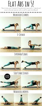 100 Ab Flat S In 5 Minutes Workouts With Bodyweight Workout Fitness