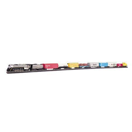 Bachmann Trains Overland Limited Ready-To-Run HO Scale Electric Train Set