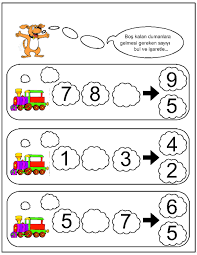 Halloween Brain Teasers Worksheets by Missing Number Worksheet For Kids 20 October Preschool