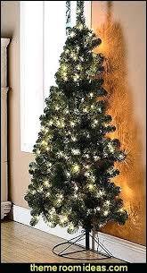 Half Christmas Tree Prelit Amodiosflower