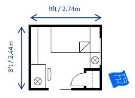 Minimum Bedroom Size Twin Single
