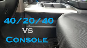 Why I Didn't Get The 40/20/40 Split Bench Front Seat - 2017 Ram 2500 ... Outland 33109 Grey Truck Bench Seat Console Amazoncom Tsi Products 30011 Clutter Catcher Black Omixada Console Truck Bench Seat Grey 6772 Chevy Truck Seat Console 1 For Sale Advance Design Chevrolet Pickup Bench Vehicles Silverado Center Swap Youtube 175929 At Sportsmans Guide C10 Install A Split 6040 7387 R10 Camo Covers Cartruckvansuv 2040 50 W Plush Paws Custom Cover With Detachable Hammock Ford F150 Enchanting White Nz Wooden Old Diy