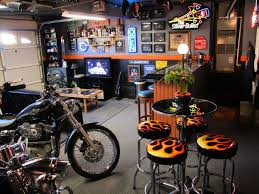 Image Of Harley Davidson Bar Furniture