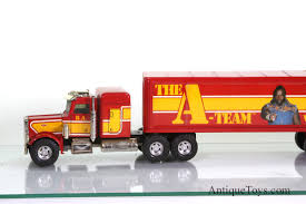 A-Team BA Peterbilt Truck By Ertyl- Mr. T *sold* - Antique Toys For Sale