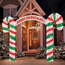 merry christmas candy cane archway improvements catalog