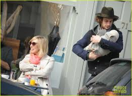 100 Taylor Wood Aaron Johnson Sam Step Out With Baby Romy