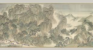 Yellow Mountains The Kangxi Emperors Southern Inspection Tour Scroll Three Jinan To Mount Tai