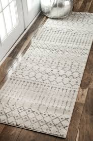 Vivacious White Gray Jcpenney Kitchen Rugs With Oak Dark Brown Floor