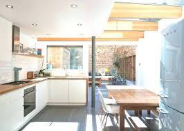 deco cuisine blanc et bois idee deco cuisine blanc et bois cethosiame deco veranda magazine