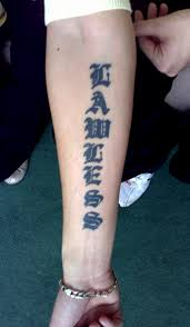 Chinese Writing Arms Elbows Wrist Hands Womens Girls